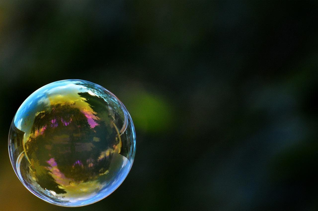 Seifen- oder Filterblase